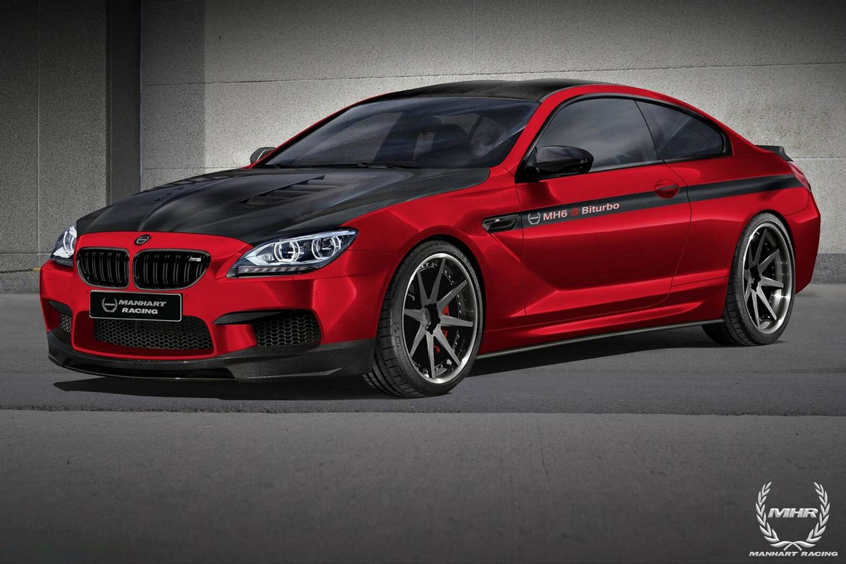 Manhart Racing Tuned Bmw M6 Evo