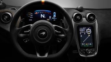 McLaren 600LT full specs - interior