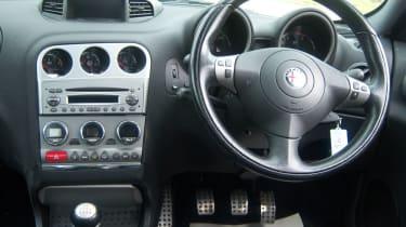 Alfa Romeo 156 GTA dashboard