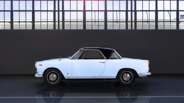 Lancia Appia coupe – side