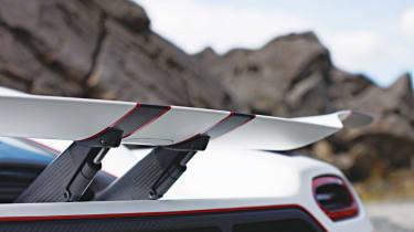 Koenigsegg Agera R rear wing