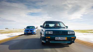 VW Golf R vs Golf Rallye