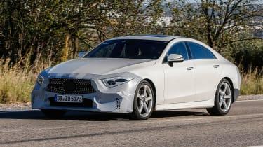 Mercedes-Benz CLS spy - front quarter