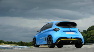 Renault Zoe E-Sport - rear three quarter