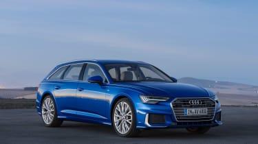 Audi A6 Avant launch - front