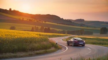 Porsche 911 GT3 RS - turning