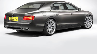 2013 Bentley Flying Spur rear view