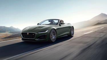Jaguar F-type Heritage 60 Edition - roadster