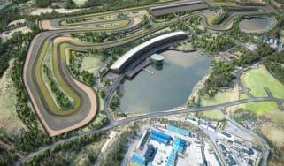 Lake Torrent race circuit