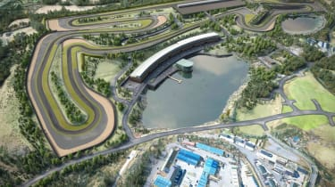 Lake Torrent race circuit