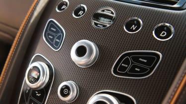 Aston Martin DB9 GT dash