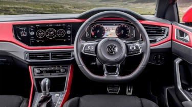 Volkswagen Polo 6 GTI - dash