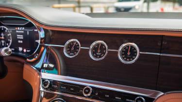 Bentley Continental GT review – display