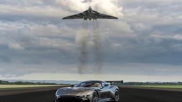 Aston Martin Vulcan - with plane