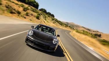 Porsche 911 final testing - nose