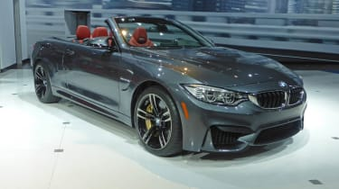 BMW M4 Convertible New York show front