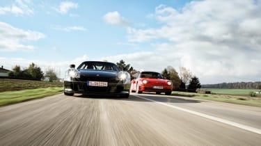 Porsche Carrera GT & 959 - driving
