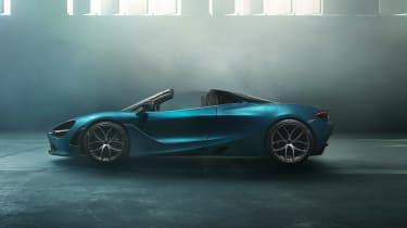McLaren 720S Spider - profile