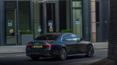 Mercedes S-class – rear quarter