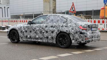 G20 BMW 3-series spy - side