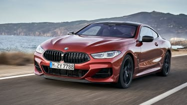 BMW M850i coupe review - front