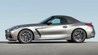 BMW Z4 M40i silver - profile