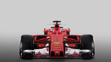 Ferrari F1 car front 2