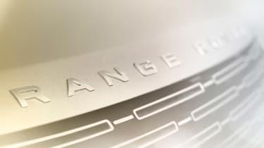 Range Rover teaser badge