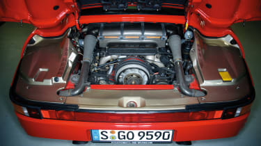 Porsche Carrera GT & 959 - engine