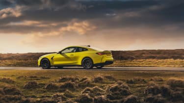 BMW M4 Competition 2021 review – rear static