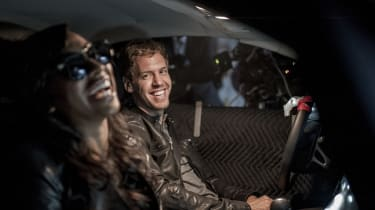 Sebastian Vettel stars in music video