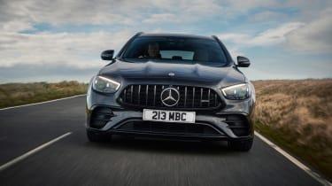 2021 Mercedes-AMG E53 4Matic+ Estate - nose tracking