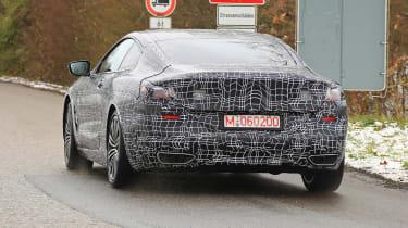 BMW 8-series spy - rear