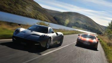 Pagani Huayra and McLaren 12C