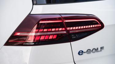 Volkswagen e-Golf - rear lights