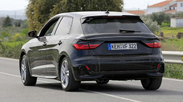 Audi A1 prototype - rear