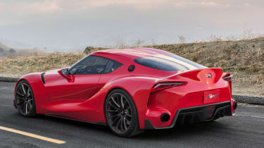 Toyota FT-1 'new Supra' concept