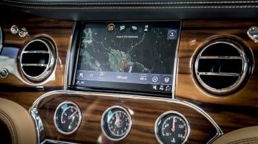 Bentley Mulsanne - dash
