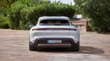 Porsche Taycan Cross Turismo - 4S rear static