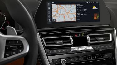 BMW M850i revealed - dash