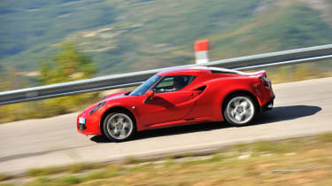 Alfa Romeo 4C review: Best of 2013