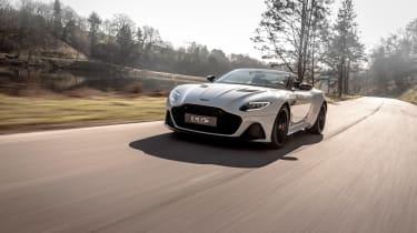 Aston Martin DBS Superleggera Volante - front quarter