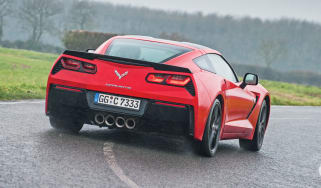 Chevrolet Corvette Stingray C7 sideways