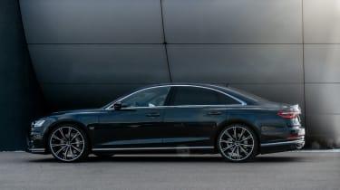 Audi A8 Abt - side