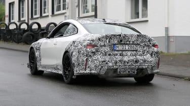 BMW M4 CSL spy 2021 – rear1