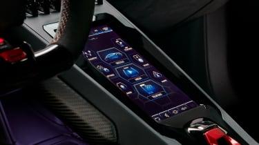 Lamborghini Huracan EVO infotainment