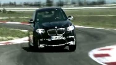BMW M5 track testing