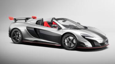 McLaren MSO R spider - front side
