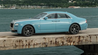2014 Rolls-Royce Ghost Alpine Trial Centenary Collection side profile