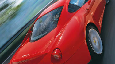 Ferrari 599 GTB Fiorano rear